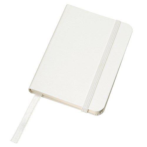 ハードカバーポケットノート:ホワイトの商品画像