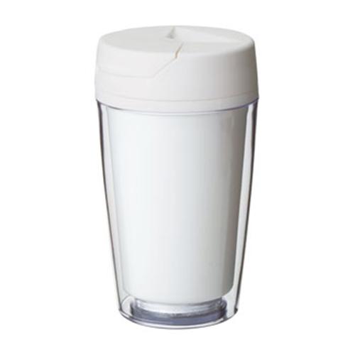 カスタムデザインタンブラーFC 250ml:ホワイトのイメージ画像