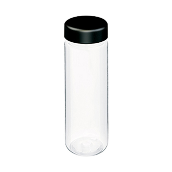 スリムクリアボトル:ブラックのメイン画像