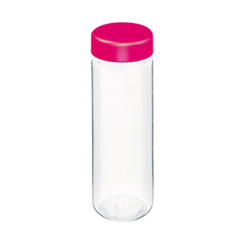 スリムクリアボトル:ピンクの商品画像