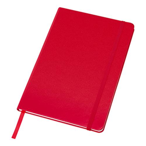 ハードカバーノート(罫線):レッドのメイン画像