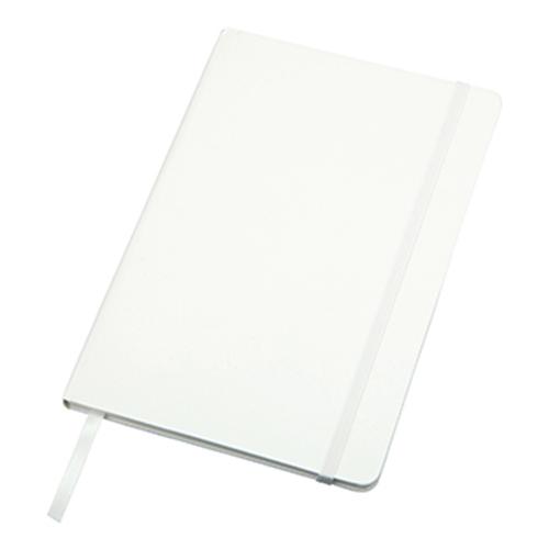 ハードカバーノート(罫線):ホワイトのメイン画像