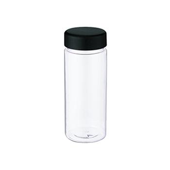 スリムクリアボトル(S):ブラックのメイン画像