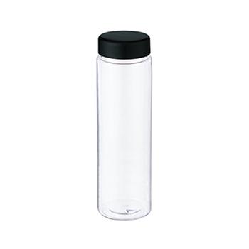 スリムクリアボトル(L):ブラックのメイン画像