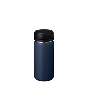 Zalattoサーモハンドルスタイルボトル 350ml:ネイビーの商品画像
