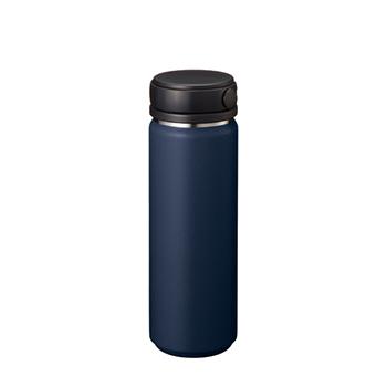 Zalattoサーモハンドルスタイルボトル 500ml:ネイビーの商品画像