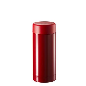 ステンレスドリンクボトル 200ml:レッドの商品画像