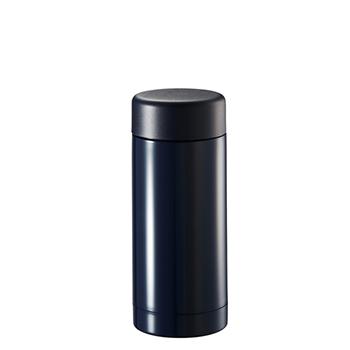 ステンレスドリンクボトル 200ml:ネイビーの商品画像