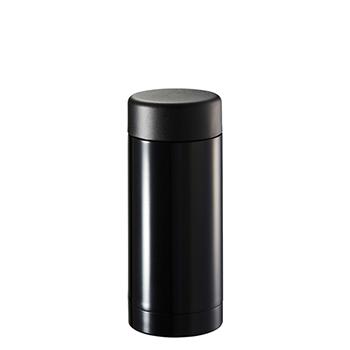 ステンレスドリンクボトル 200ml:ブラックの商品画像