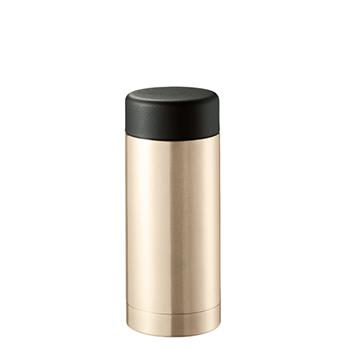 ステンレスドリンクボトル 200ml:ゴールドの商品画像