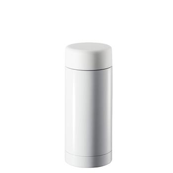 ステンレスドリンクボトル 200ml:ホワイトの商品画像