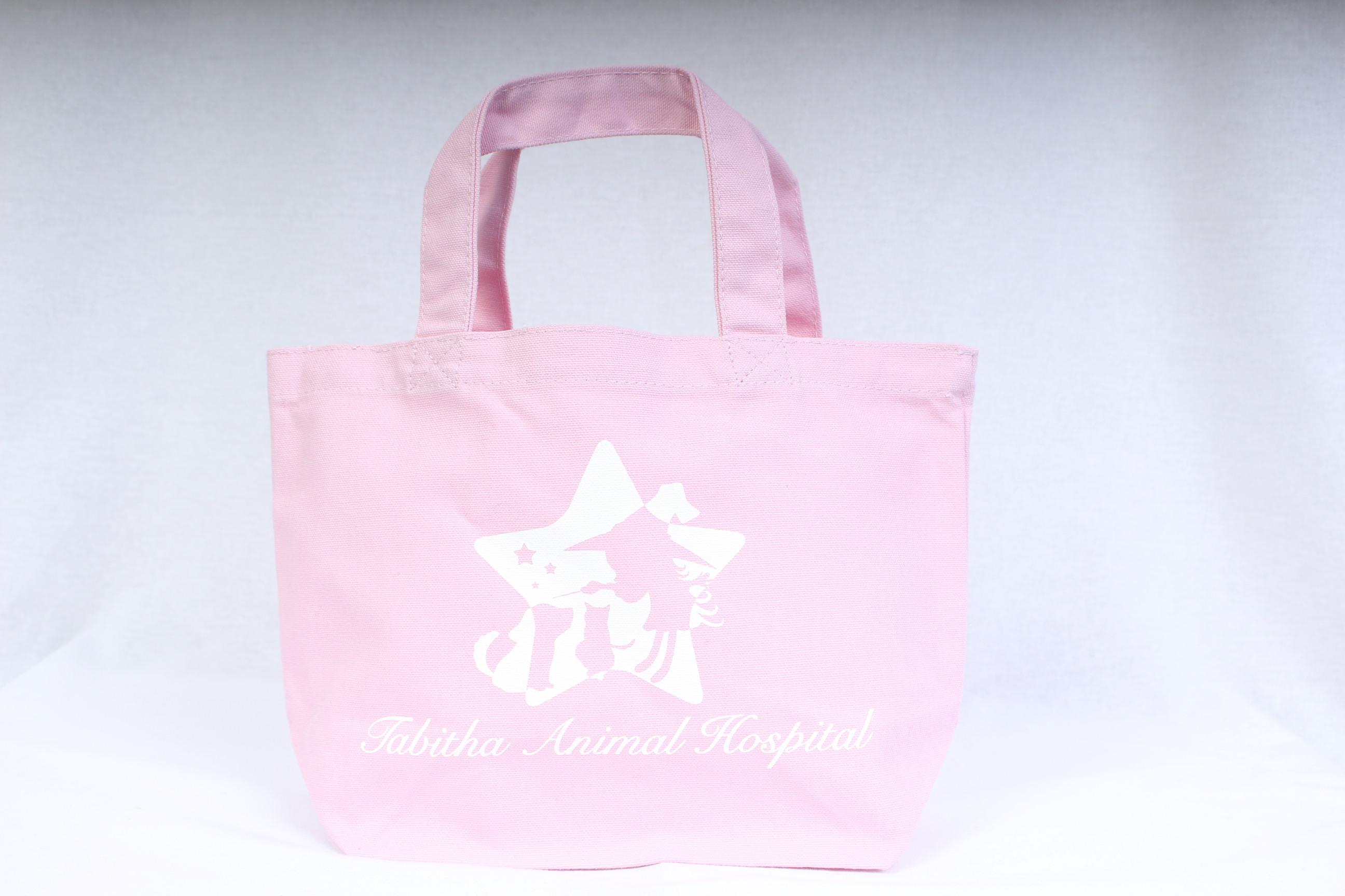 動物病院のオリジナル布バッグ