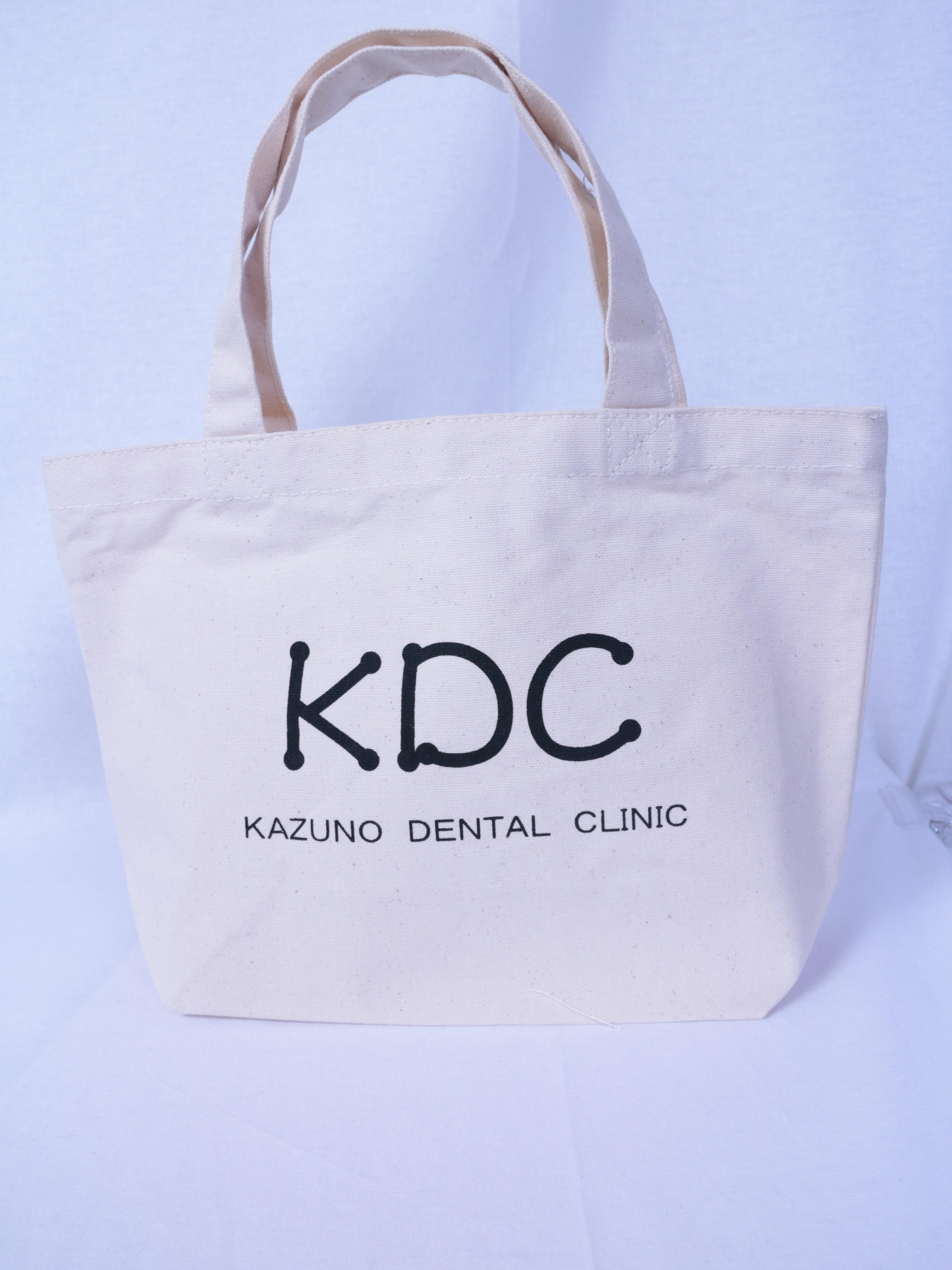 大分県の歯科小児歯科さんオリジナルトートバッグ