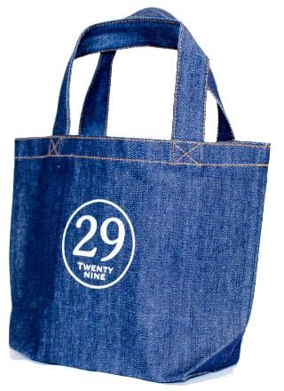 既製品に印刷したデニムトートバッグ