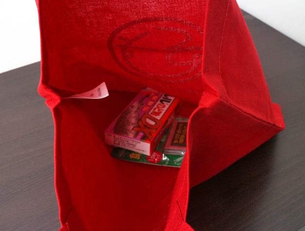 実際に薬局店様が製作されたバッグです。