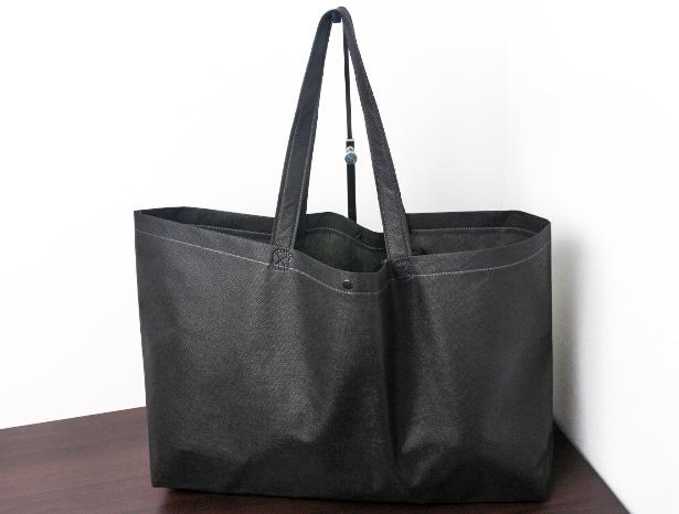 アパレル関係:船底型不織布バッグ(大きめサイズ